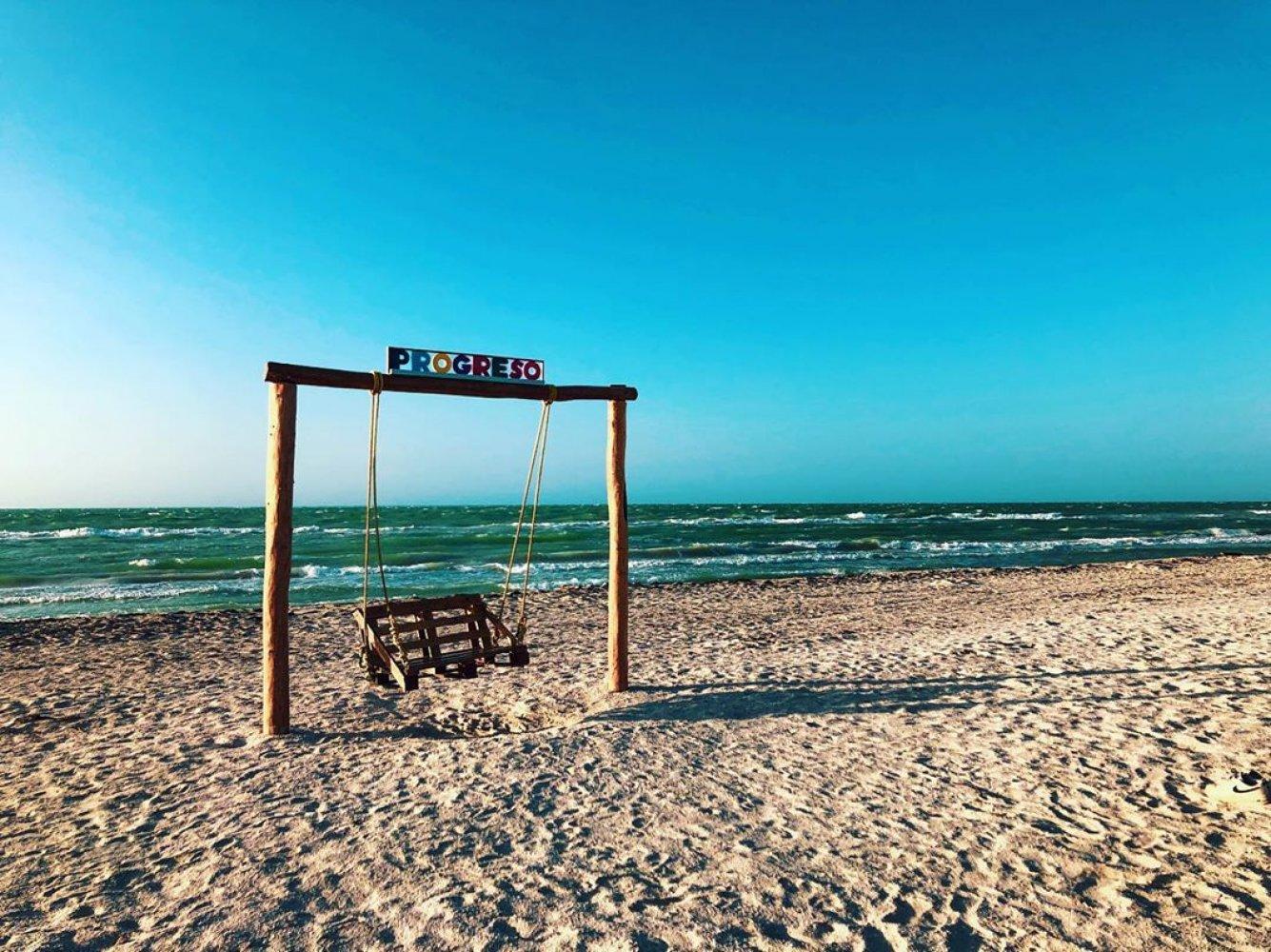 Entre las playas de Yucatán más bellas está Progreso.
